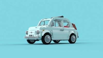 Fiat500好可愛 LEGO給你收藏它的機會