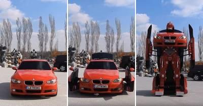 土耳其工程師研發出「可駕駛BMW變形金剛」,變形全紀錄影片驚人,網友看過以後紛紛開始下單啦!
