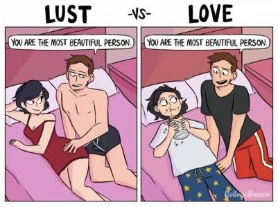4張圖看懂「愛情」與「情慾」的分別,原來這才是「真愛」,最後一張讓全世界都哭了!