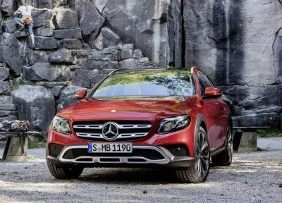 Benz E-Class 全地形跨界將於All Terrain巴黎車展發表
