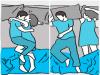 想知道另一半到底「愛不愛你」就快來看看你們的「睡姿」屬於哪一種!#6 代表你們早就愛到分不開彼此了!