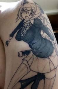 對一件事情有「愛」就不怕朝夕相處,日本網友「為愛刺青」,大家看了只說:「你人生毀了...」