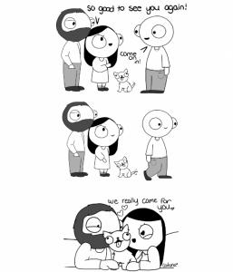 6則「只有度過熱戀期情侶」才會懂的超爆笑漫畫! 5男生不說,女生永遠都不可能知道啊!