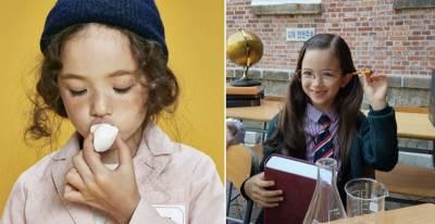 大家都以為這個「缺了2顆門牙」的小女孩一定很醜!沒想到她「拔掉眼鏡後」才剛張開雙眼馬上電翻所有人!