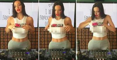 巨乳正妹DJ竟上傳讓人「狂噴鼻血的喬奶」畫面瞬間在網上爆紅!但看到最後,所有人卻都暴怒!