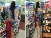 他在超商驚見這名女子穿「後空愛心褲」大血拼,沒想到當她一轉身「這一幕」讓網友鼻血狂噴!