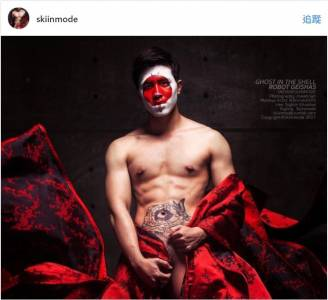 尺度無極限!12張泰國性感男模「完全赤裸解放」無碼寫真。看到 7「胯下巨砲」編編已經血流成河了!
