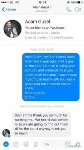 英國女子「被網友騙反而和超帥本尊在一起」因禍得福!騙子網友:「沒想到自己會變成媒人...」。