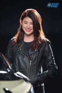 車壇女戰神蘇宗怡接TVBS《地球黃金線》 千萬跑車重機登場