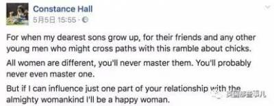 她給兒子們寫了一封尺度很大的信:把妹這事,沒那麼簡單...看完女孩們都感同身受