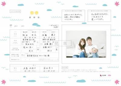 日本的結婚申請書竟然變成這樣了?這也太可愛了吧,像在開玩笑…