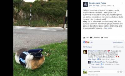 新西蘭警局來了一位「萬人迷」警官,發張照片就能吸引萬千迷妹,而他的真實身份竟然是……