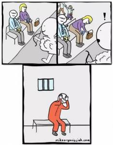 負能量邪惡小漫畫,營養秒殺雞湯