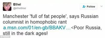英國女人都太胖!同性戀又多!戰鬥民族這次搞的事情有點大,梁子越結越深...