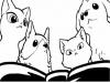 """來自Youtube的"""":3 Hellopet""""用戶專門製作寵物為主角的黑白動畫,畫風和劇情都只有一個"""