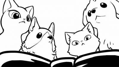"""來自Youtube的"""":3 Hellopet""""用戶專門製作寵物為主角的黑白動畫,畫風和劇情都只有一個字:萌!"""
