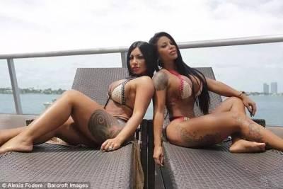 另類美!這對姐妹花靠「臀部自拍」月收入高達78萬!