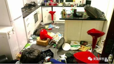 最近英國搞了個最髒宿舍評選,冠軍直接獎現金...這畫風直接就不忍直視了啊