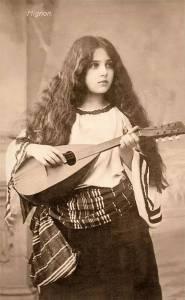 100年前的各國美女艷照,美呆了!