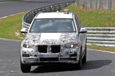 新一代BMW X5 間諜照被捕獲