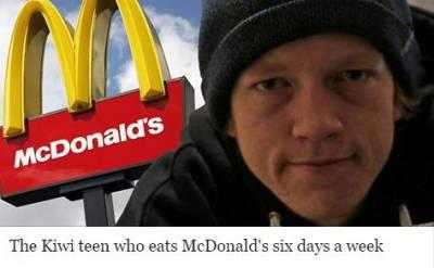 一周連續6天吃麥當勞,一吃就是兩年!紐西蘭小伙卻說這種大神級的省錢妙招你們不懂!