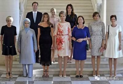 各國開會「第一夫人的合照竟出現了一位帥哥」轟動全球!網友大讚:「幹得好盧森堡!」