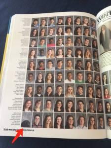 女孩在畢業相冊里發現了一位「特殊」同學,還牽扯出一段故事...