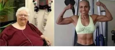女人健身前後的對比照 最後一張扎心了!