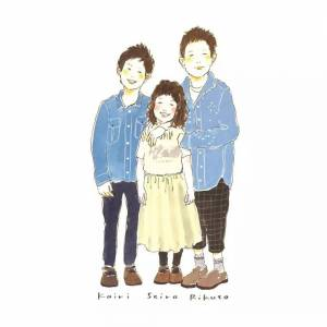 日本一插畫師為各個家庭手繪的肖像寫真,我從中看到了愛情最幸福的模樣!