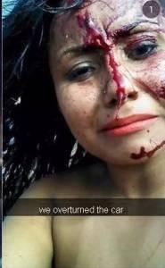 現在人為了賺取點讚率,做出不怕死的自拍照,就連發生車禍要死也想自拍...
