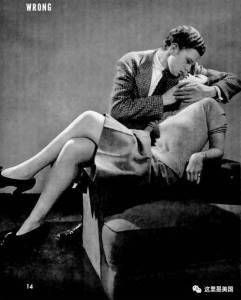 70年前的美國接吻教程,真人出鏡,好萊塢演員都要學!