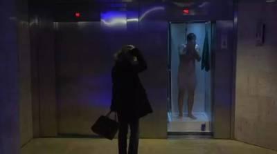 當電梯打開時,出現跟你想像中不一樣,你還改踏進去坐嗎
