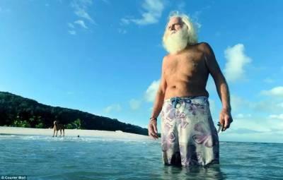 曾經的超級富商,生意失敗後他把自己活成了魯濱遜流浪,荒島生活20年...