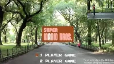 屌炸天!牛人自己開發的《超級馬利歐》虛擬現實版!