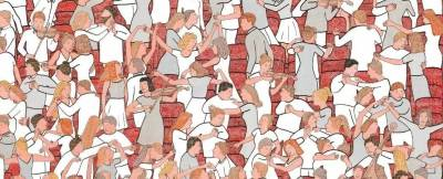 一位法國畫家,擅長畫一些表現男女關係的小漫畫,帶點黃卻又不怎麼黃....