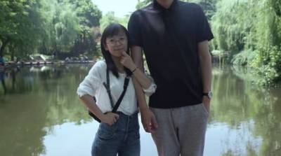 身高相差41cm,相愛10年,結婚八年,最好的愛情是第一眼認定的你