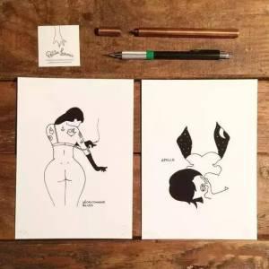他畫的「小黃人」情色插圖,不僅沒遭封殺,還狂吸了72萬粉絲!