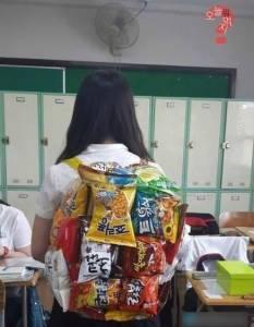 南韓最新流行創意背包!沒有你就落伍了!!