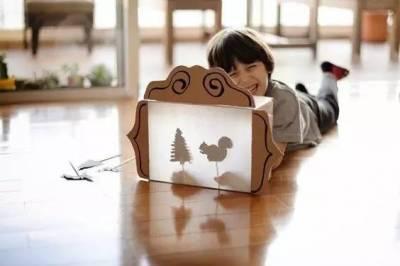 她把快遞箱剪了一刀 結果把整個家美翻了!