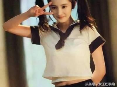 女明星穿校服,楊冪 VS 劉亦菲 Baby VS 熱巴,竟然都比不過「她」的freestyle!