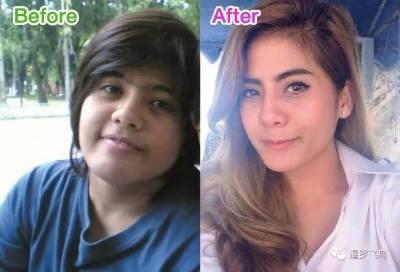 減肥堪比整容 胖妞的逆襲 打泰拳健身變女神