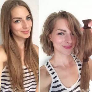 髮型果然很重要,這些人剪完頭髮瞬間變成另外一個人!看完都驚呆了,最後一張根本72變