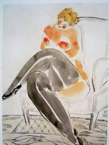 一生窮困潦倒 愛畫裸女,死後長久不為所知的中國畫家,如今一幅畫賣出1.28億天價