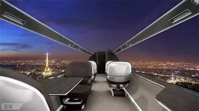 全球首架全透明飛機,360°C酷炫上天。人家敢造,你敢坐麼?