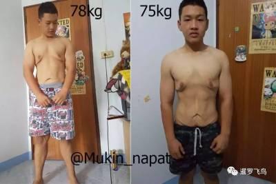 18歲小胖減肥一年半甩130斤肉 效果堪比整容成功逆襲成小鮮肉