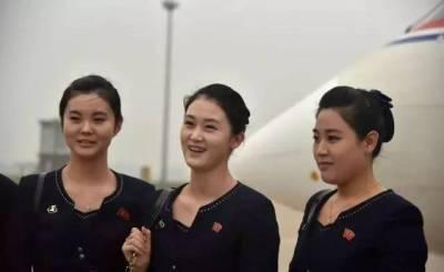 神秘的北韓空姐照片,難得一見!