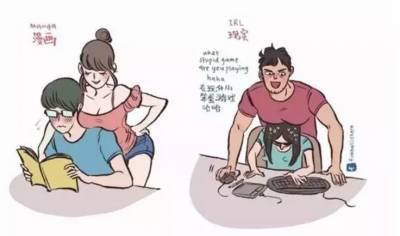 來自馬來西亞的一名插畫師,畫出158cm女友和199cm男友的日常,甜到炸裂