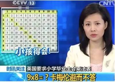英美帥哥挑戰中國小學數學題,結果......