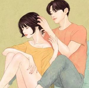 最近這樣一組撩人的情侶插畫火遍了外網!親密又柔軟…