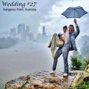 走遍30多個國家,舉行100次婚禮,這對夫妻環球撒狗糧的方式我是真服氣!